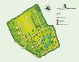 Park-Grundriss