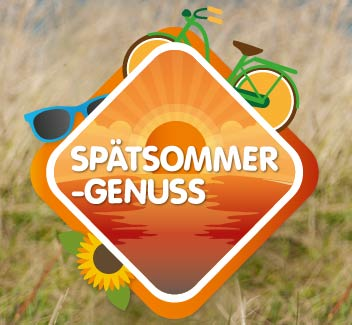 Optimaler Spätsommergenuss